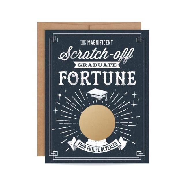 Inklings Graduate Fortune Scratch-Off Card