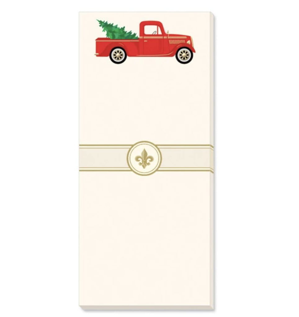 Holiday Truck NotePad