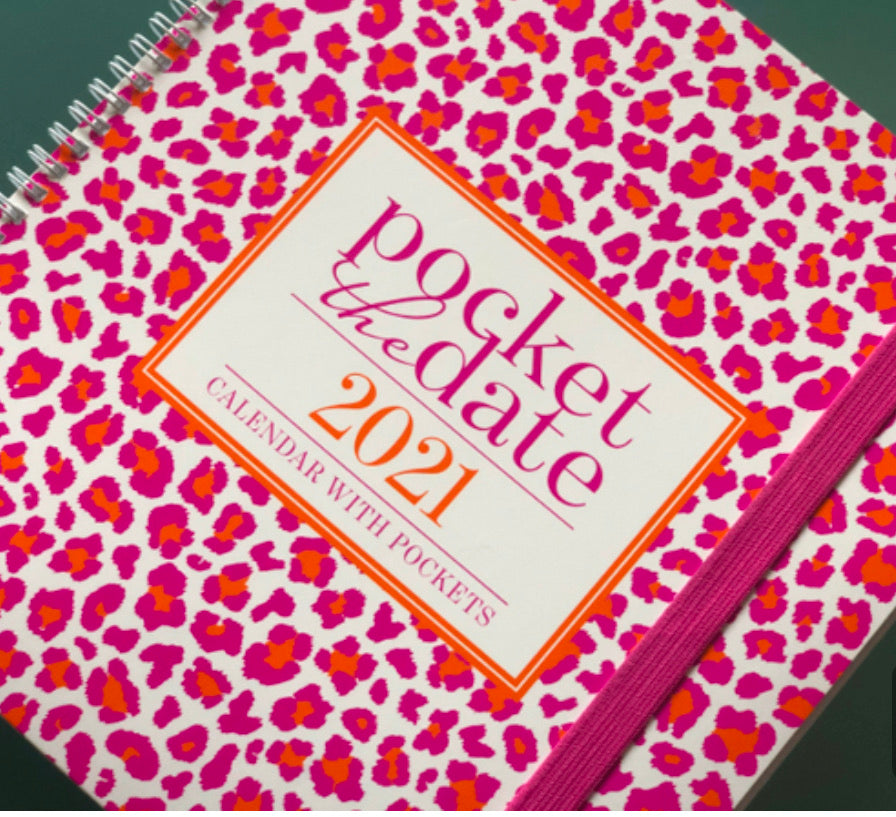 Pocket the Date Planner 2021
