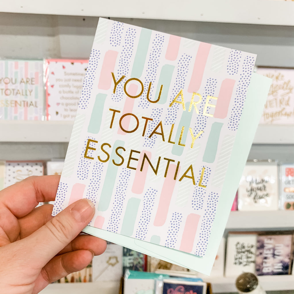Totally Essential Greeting Card