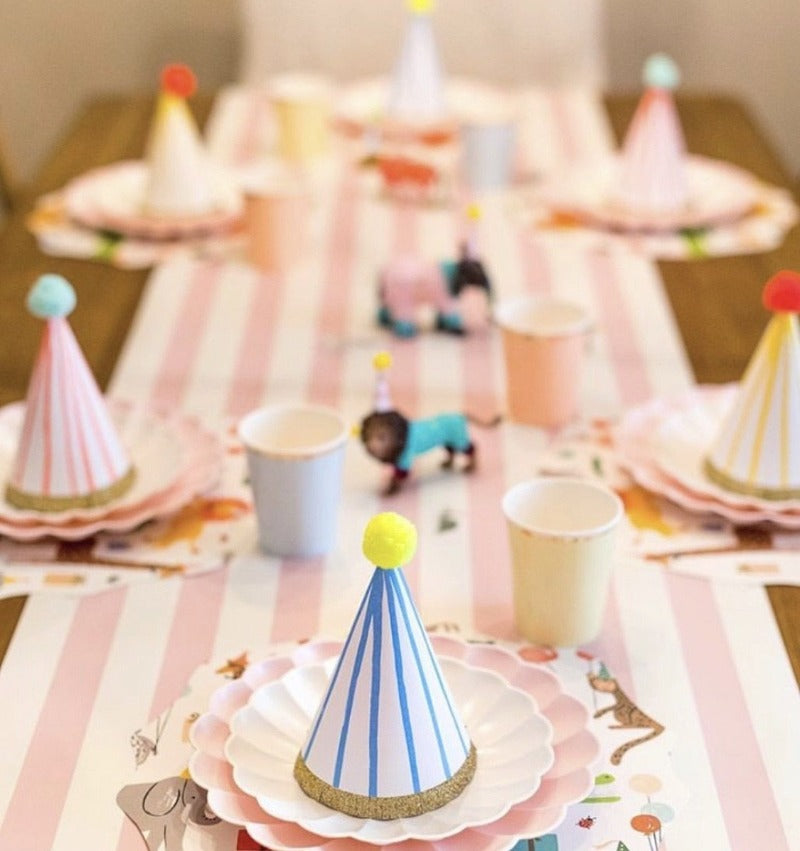 Pink Stripe Table Runner