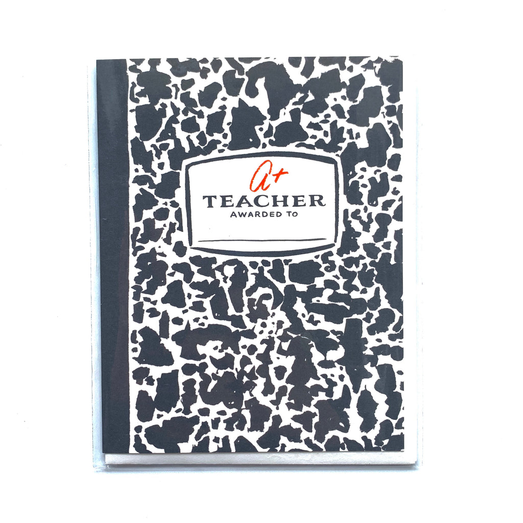 Composition Book Card
