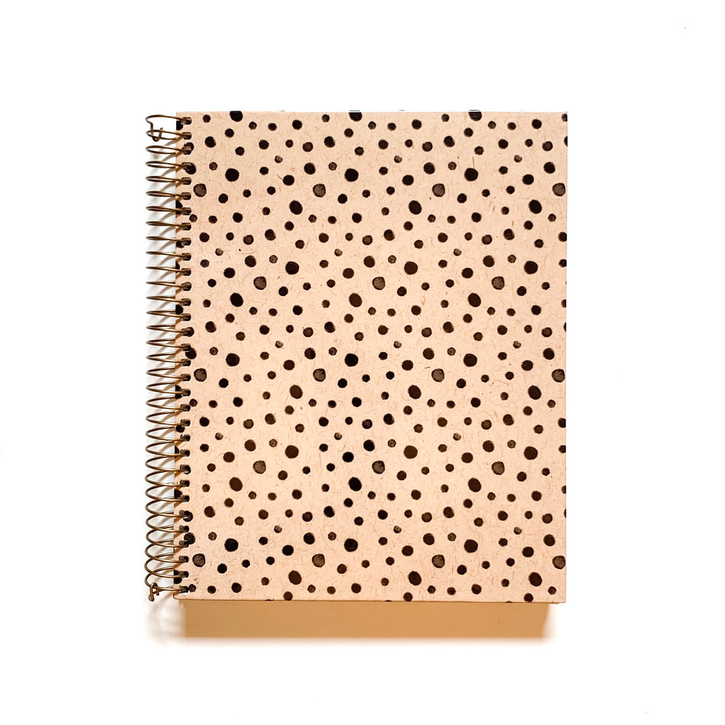 spotted leopard notebook paper source