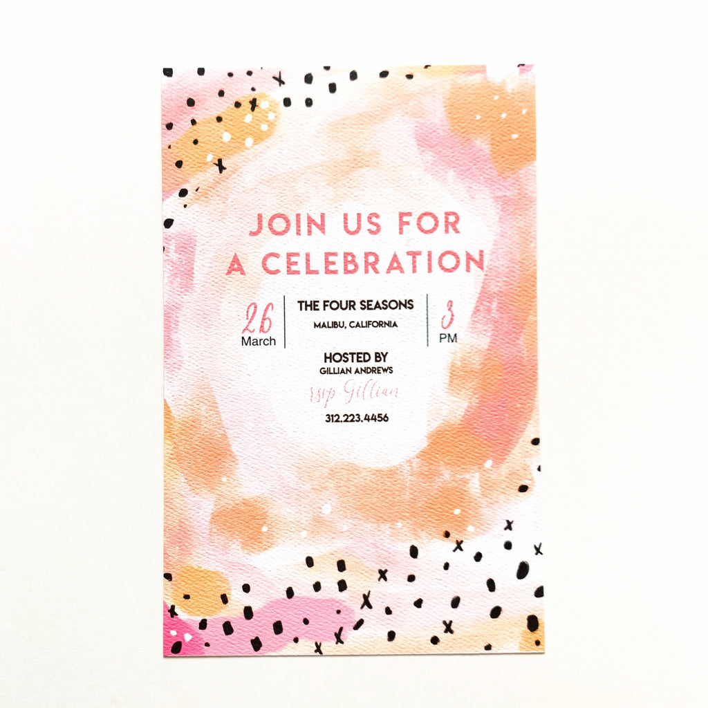 Boxed -BLANK- Invitations