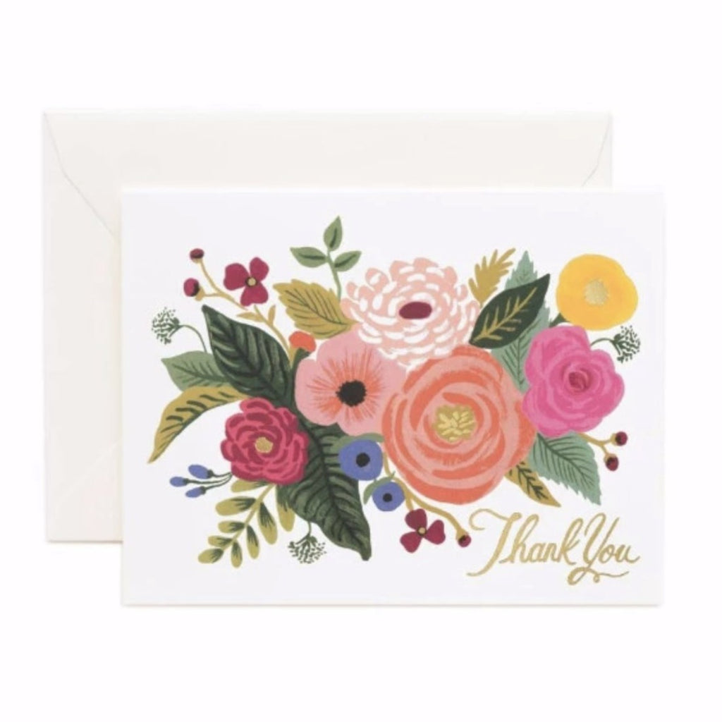 Juliet Rose Thank You Card - Print&Paper