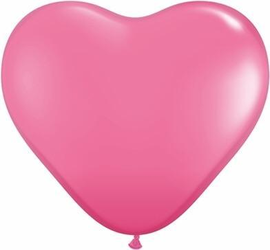 "36"" Latex Heart Balloon (red or pink)"