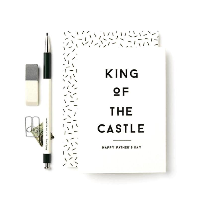 King of Castle Father's Day Card
