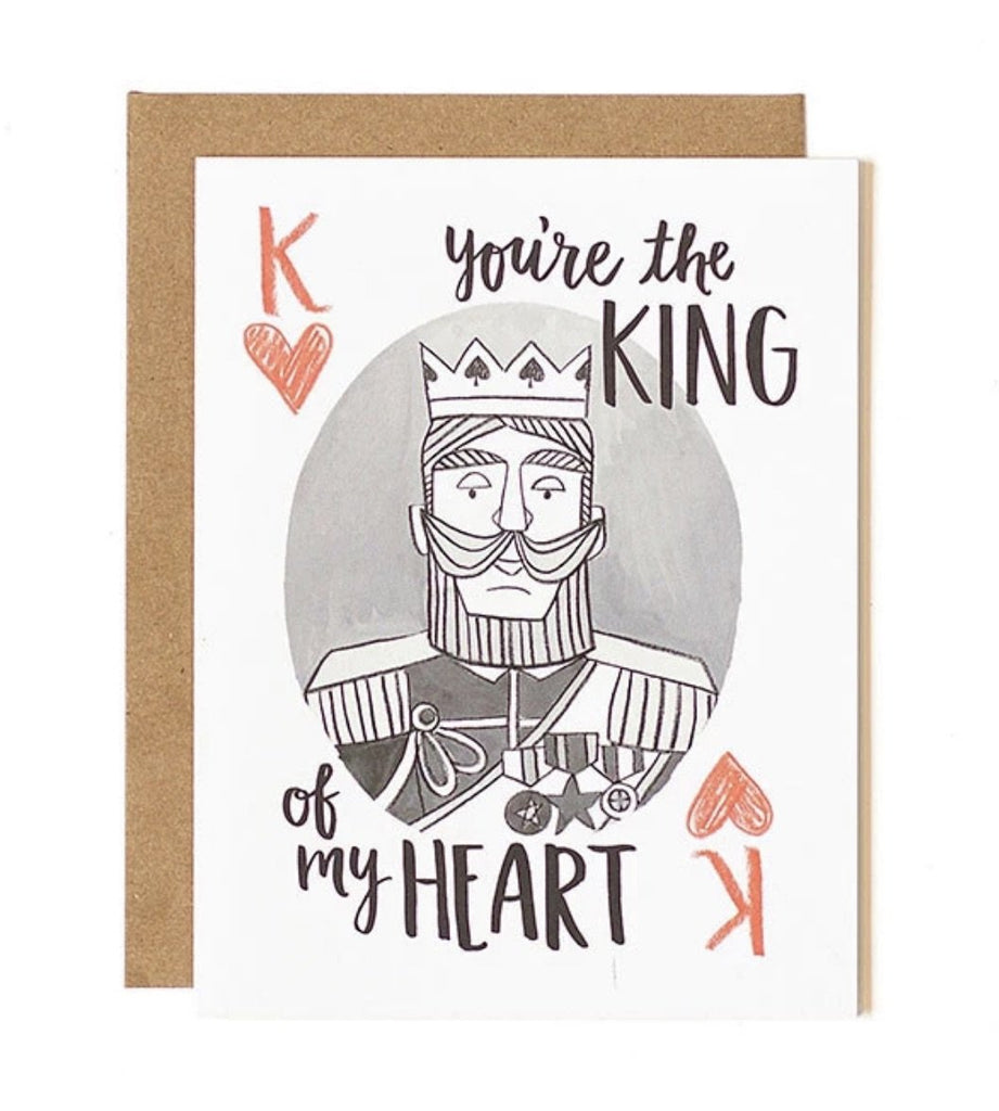 King of My Heart - Print&Paper