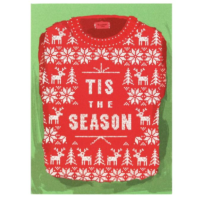 Tacky Sweater Card