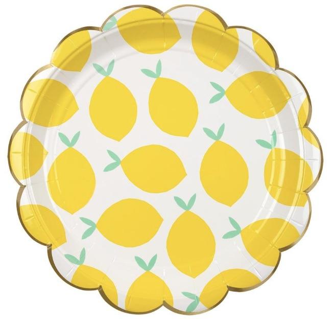 Summer Lemon Plates