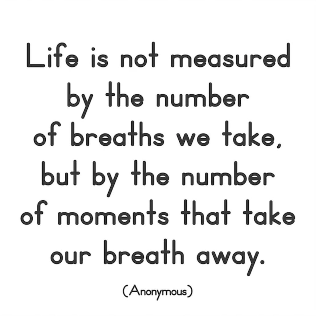 Life is Not Measured - Quotable Card