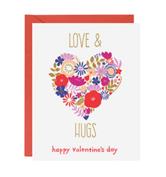 paper source valentine love card