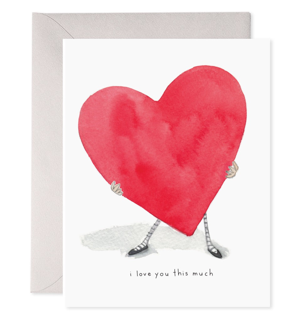 e frances love card