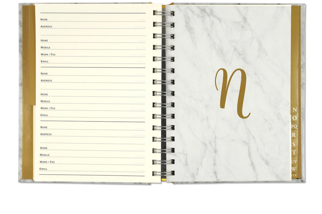 Marble Address Book