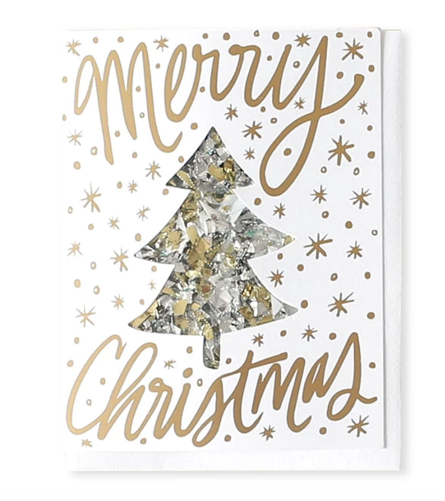 Merry Christmas Confetti Card