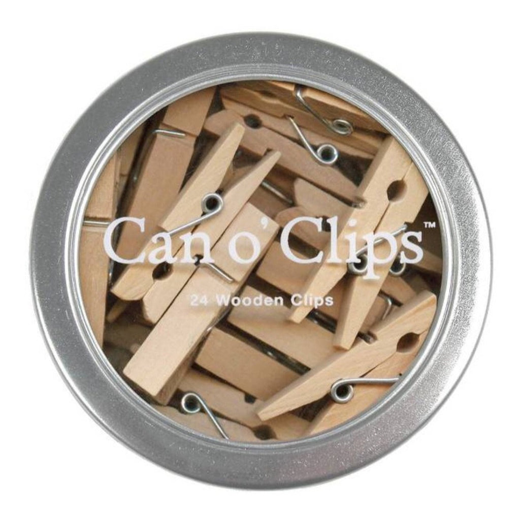 Mini Wooden Clothespins Clips