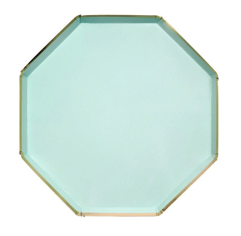 Mint Dinner Plate Large