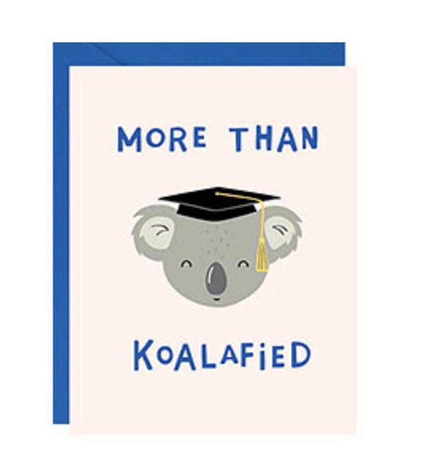 koala grad card paper source
