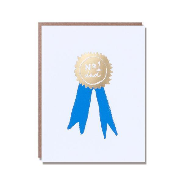 father's day ribbon card