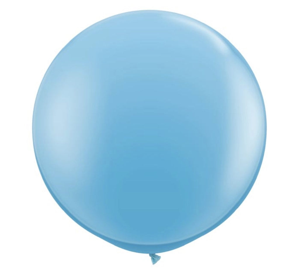 Pale Blue Jumbo Balloon