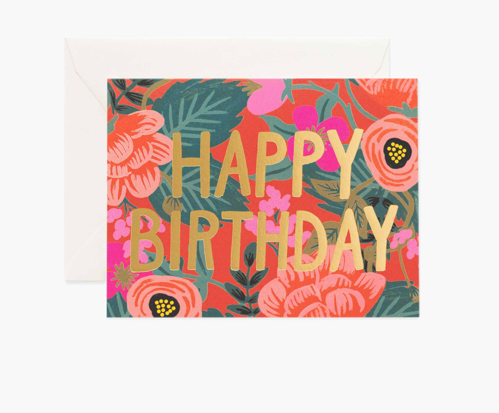 Rifle Birthday Card