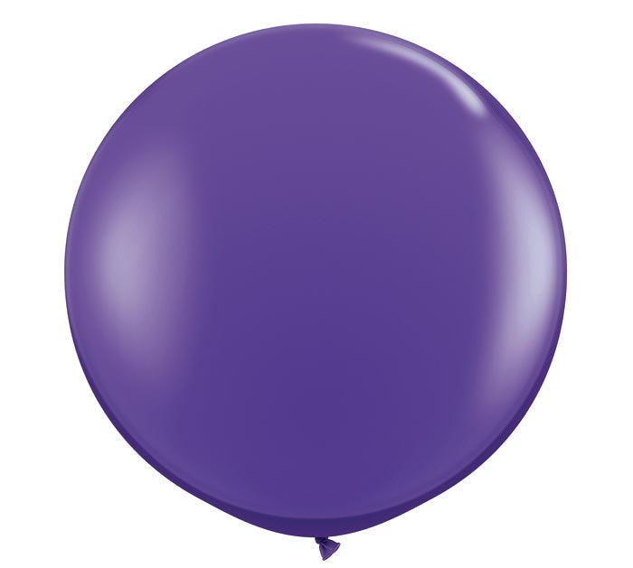 purple jumbo balloon