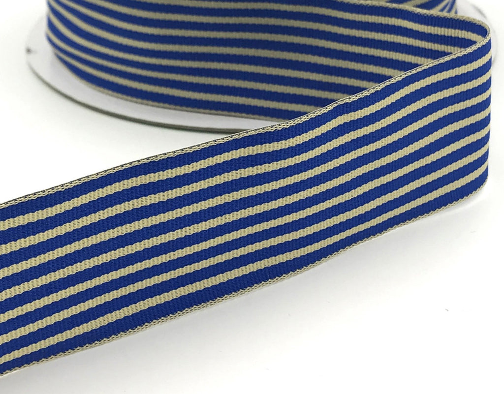Royal Ivory Stripe Ribbon