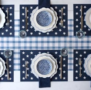 Stars on Blue Placemats