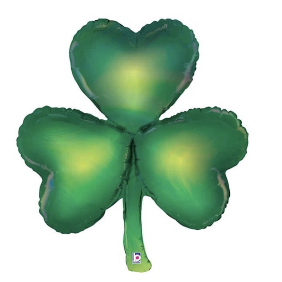 Opal Shamrock Balloon