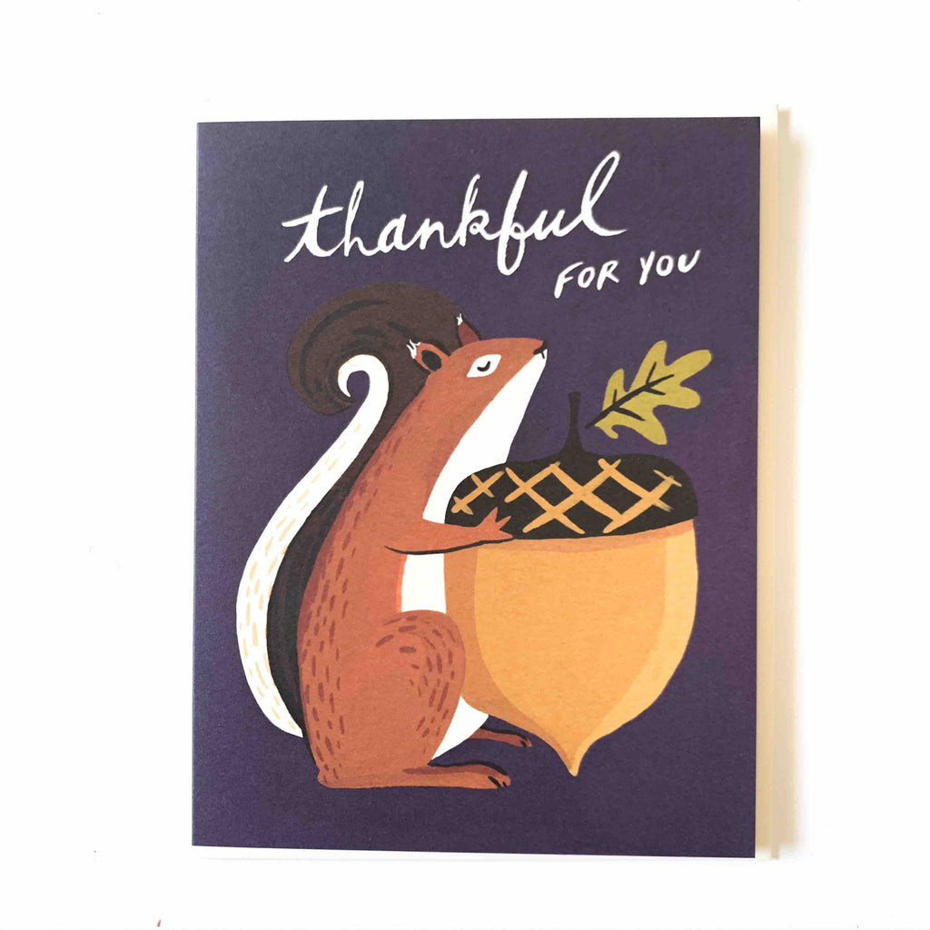 Thankful Squirrel