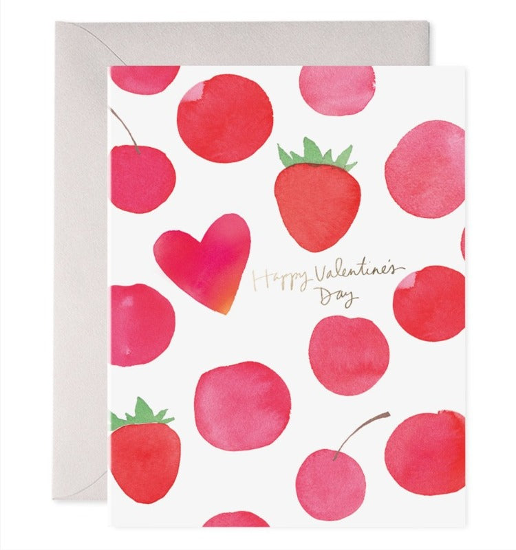 Berry Valentine Card