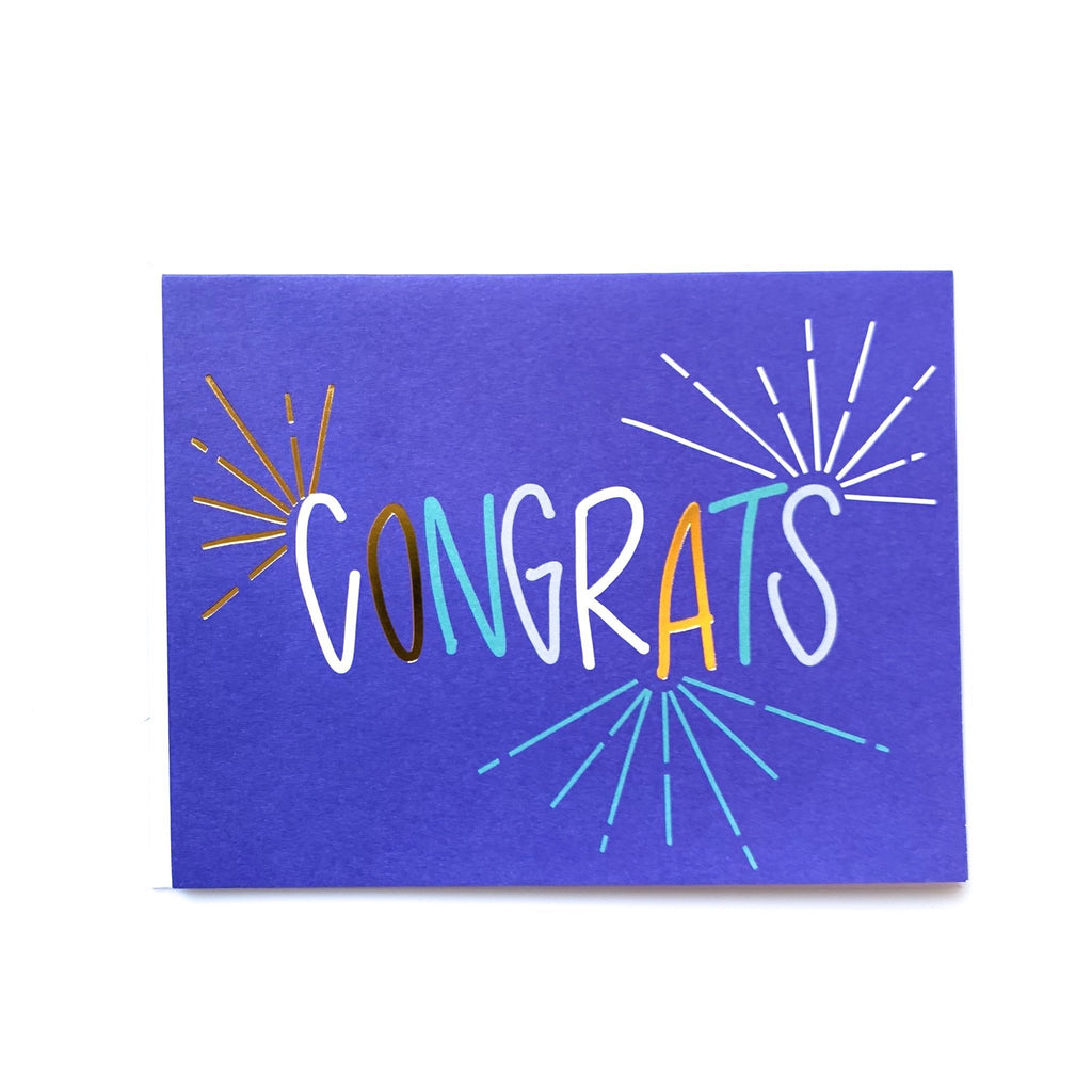 mary square congrats card