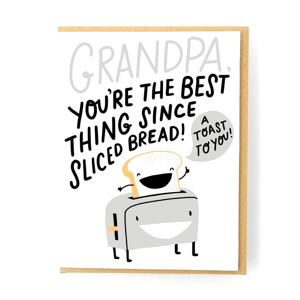 Toast to Grandpa Father's Day Card