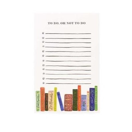 rifle book club notepad