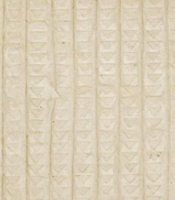 Embossed Cream Handmade Paper