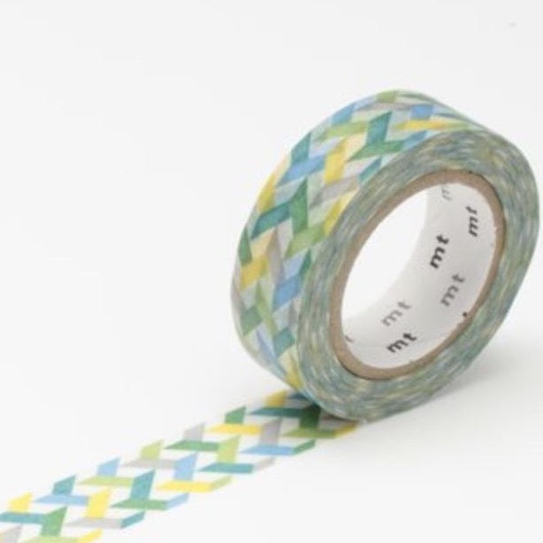 Washi Slashes and Dashes - Green