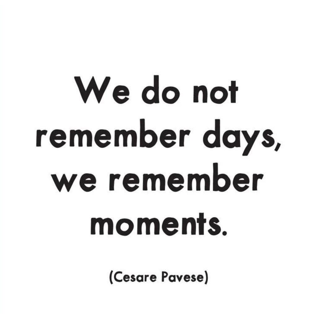 We Do Not Remember Days - Quotable Card