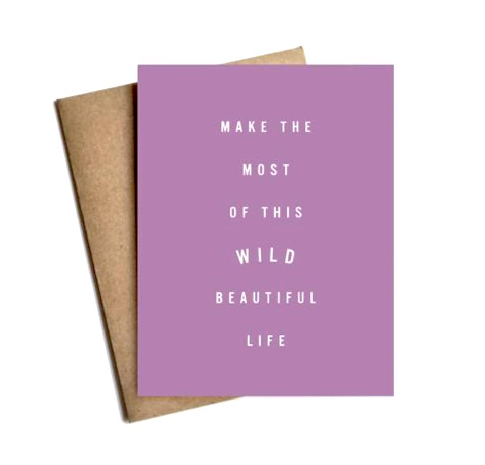 Live love studio card