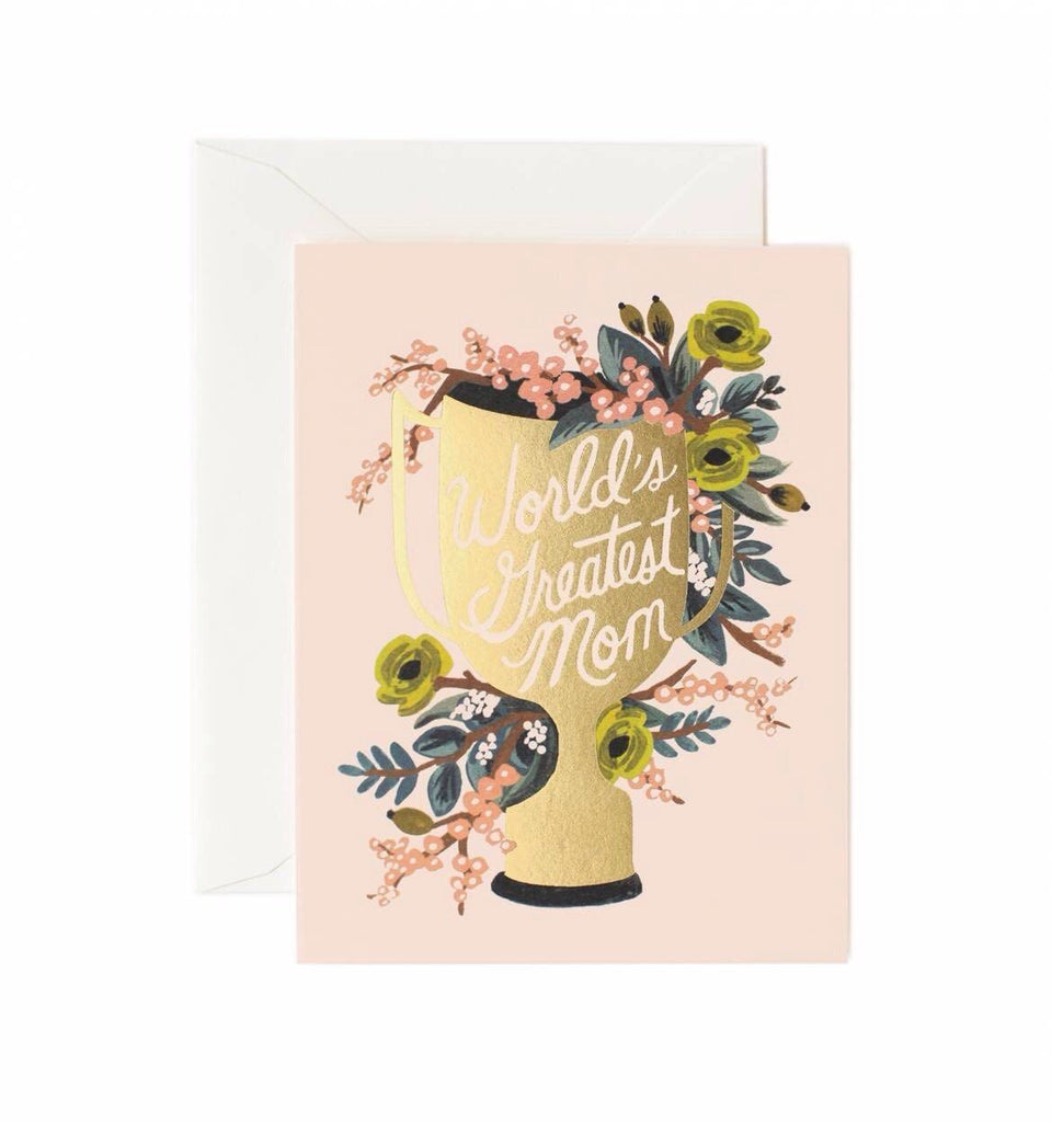 World's Greatest Mom Card - Print&Paper