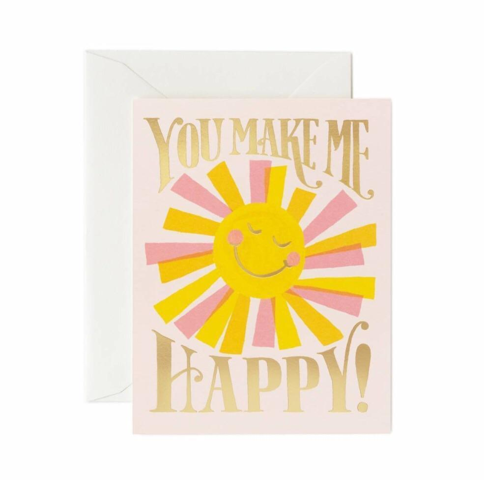 rifle paper sunshine card