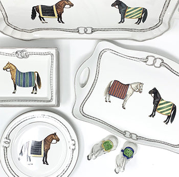 Devon Equestrian Porcelain Collection