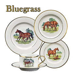 Julie Wear Bluegrass Dinnerware