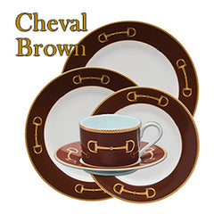 Cheval Brown Dinnerware