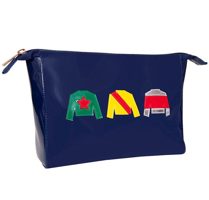 Racing Silks Navy Large Travel Bag