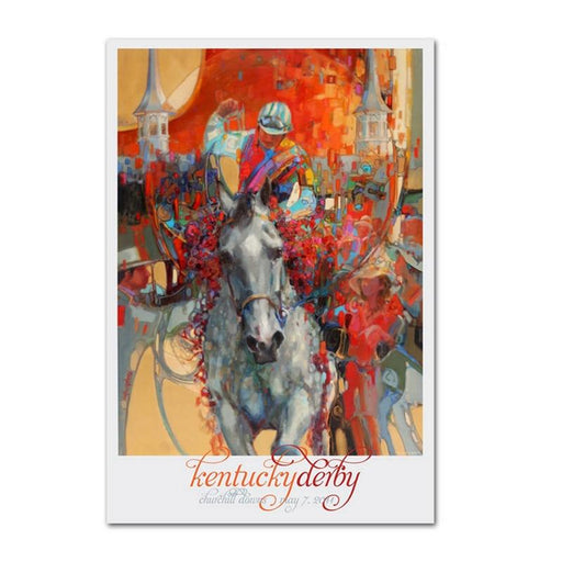 2011 Kentucky Derby Poster