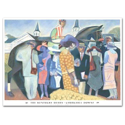 2002 Kentucky Derby Poster