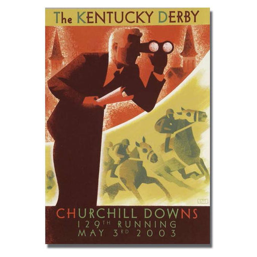 2003 Kentucky Derby Poster