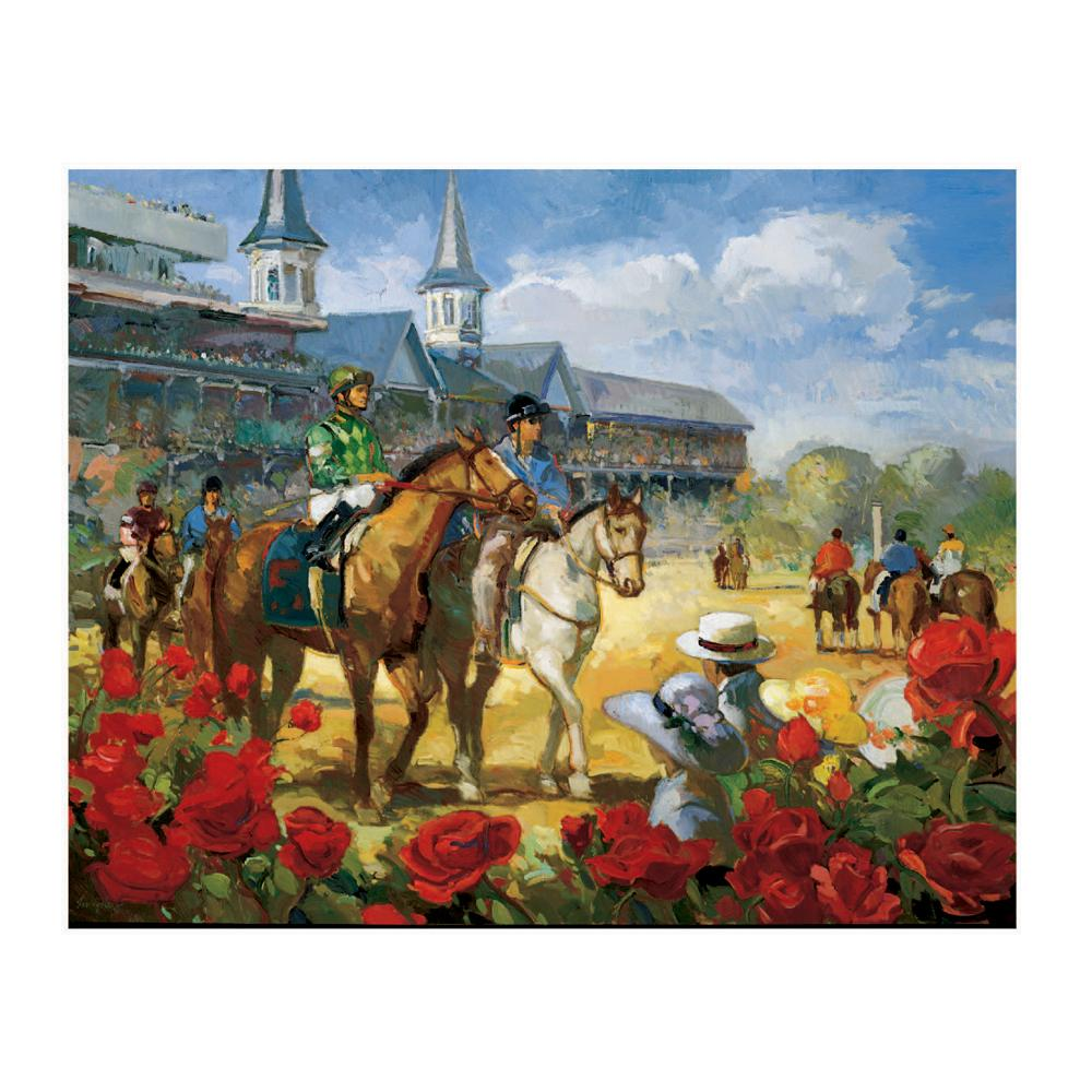 2004 Kentucky Derby Poster