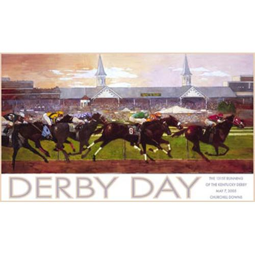 2005 Kentucky Derby Poster