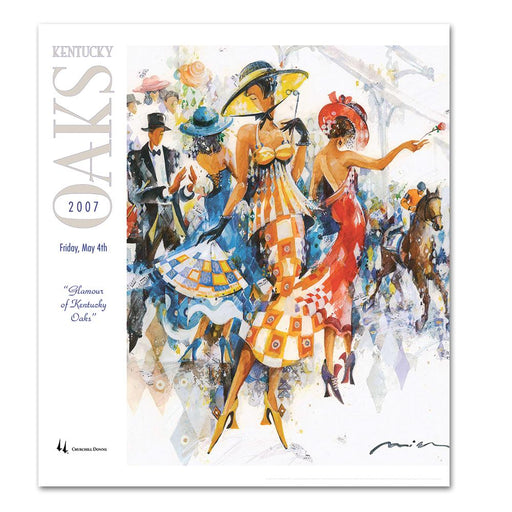2007 Kentucky Oaks Poster